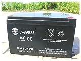 12V12AH密閉型バッテリー (MF/VRLA) ソーラー蓄電やハンディー電源 バイク UPS 船舶ボートに。[a47]