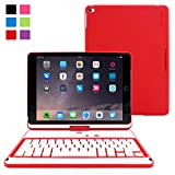 Best Snugg iPadのケース - Snugg8482 360度回転キーボードケース iPad Air 2用 ウルトラスリムキーボードケース Bluetooth接続可 iPad Review