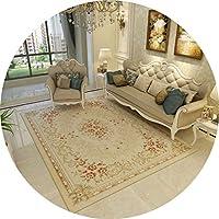 じゅうたん カーペットホームベッドルーム長方形のカーペット子供用ルームデコレーションカーペット滑り止め掃除が簡単カーペットギフト (Color : D, Size : 160cmx230cm)