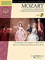 Wolfgang Amadeus Mozart: Mozart: 15 leichte Klavierstücke