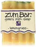 Indigo Wild Zum Bar Goat's Milk Soap Lemongrass 3oz by Indigo Wild Zum