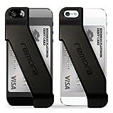 Remora iPhone5/5s用カードホルダーケース カードケース for iPhone 5/5s (Obsidian Black)