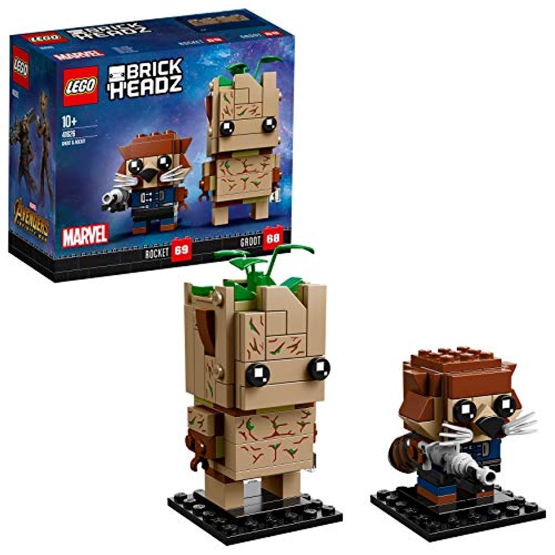 レゴ(LEGO) ブリックヘッズ グルート&ロケット 41626
