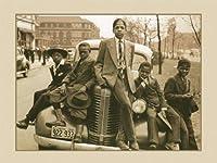 """シカゴイリノイBoys ) 1941アフリカ系アメリカ人interest。Moreサイズあります。アンティーク車12"""" x 16""""イメージサイズヴィンテージポスターReproduction"""