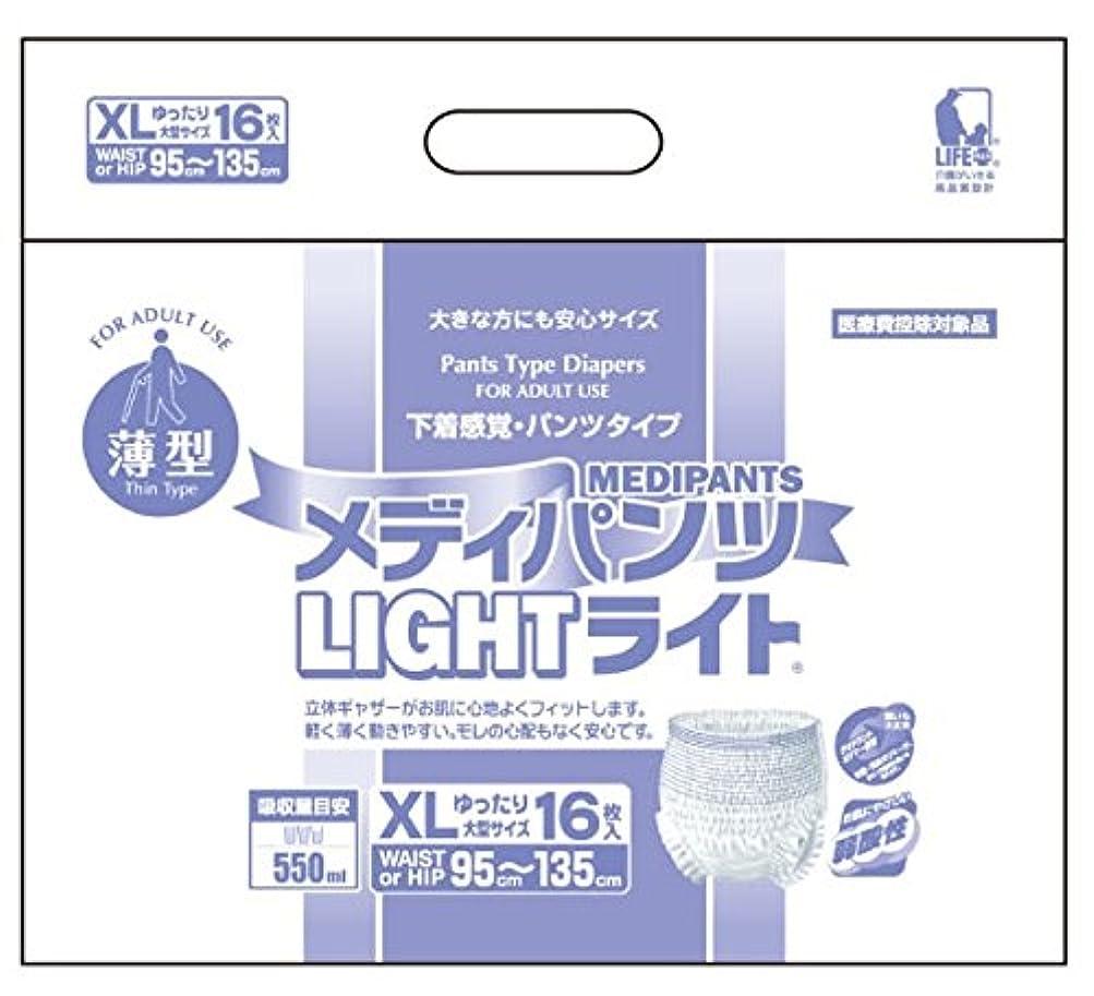 オーラルおめでとう十億近澤製紙所 チカザワ メディパンツライトXL16