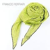 イエロー(C40) F FRANCO FERRARI フランコフェラーリ 大判ストール 807B U60(イエロー)
