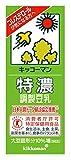 キッコーマン飲料 特濃調製豆乳 200ml×18本