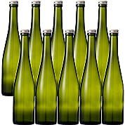 酒瓶 ワイン瓶 ALS500STD-DS 500ml -10本セット- (アルミCAP)