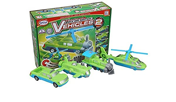 amazon popular playthings mix or match vehicles 2 kit 並行輸入品