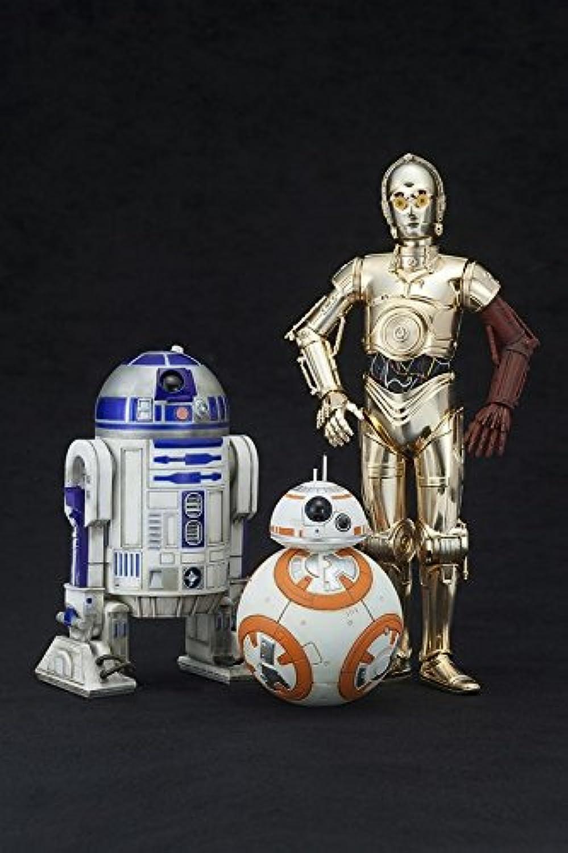 コトブキヤ ARTFX+ スターウォーズ フォースの覚醒 R2-D2&C-3PO with BB-8 110スケール フィギュア セット KOTOBUKIYA