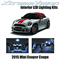 XtremeVision Mini Cooper Coupe 2015+ (11 Pieces) Cool White Premium Interior LED Kit Package + Installation Tool [並行輸入品]