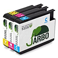 HP Officejet 6100 6600 6700 7110 7610 7612用の高収量のHP 933XL 933インクカートリッジ(シアン、マゼンタ、イエロー)に対応するJARBO