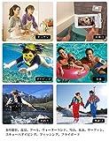 【2019最新版】 防水ケース スマホ用 IPX8認定 指紋認証/Face ID認証対応 防水携帯ケース 完全防水 タッチ可 気密性抜群 iPhoneXR/X/8/8plus/7/7plus/6/6plus/Android 6インチ以下全機種対応 水中撮影 お風呂 海水浴 水泳など適用 画像
