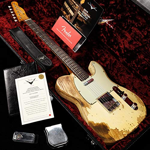 Fender Custom Shop/Limited Edition 1963 Telecaster Super Heavy Relic Super Faded Aged Vintage White