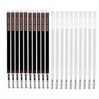Perfk 縫製用具 ミシン 替芯 消しペン 詰め替え 高温消え 熱消去可能 マーキング 20本 2色