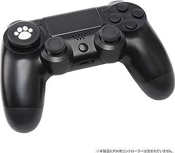 CYBER ・ 方向キーカバー ねこにゃん ( PS4 用) 黒 - PS4