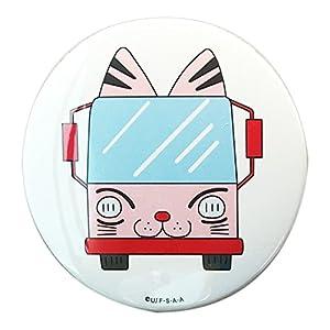 クレヨンしんちゃん 缶バッチ φ7.5cm ようちえんバス KYTB642