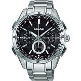 セイコー ブライツ ワールドタイム ソーラー電波メンズ腕時計 SAGA193