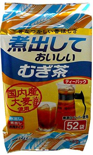 京都茶農業協同組合 煮出しておいしい麦茶 52包×2