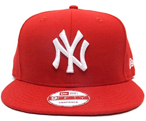 NEW ERA ニューエラ スナップバックキャップ レッドONESIZE 9FIFTY MLB ニューヨーク・ヤンキース 11308464 6V9226