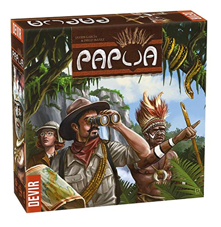 IELLO Papua ボードゲーム