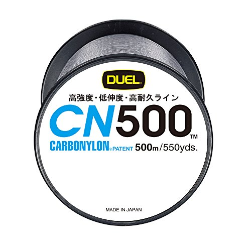 デュエル(DUEL) カーボナイロンライン CN500 500m 2号 イエロー H3452-Y
