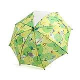 ampersand(アンパサンド) 雨の森柄窓付き傘