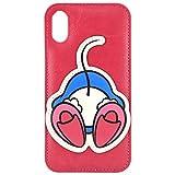 グルマンディーズ ディズニーキャラクター/OSHIRI KAWAII iPhoneXR(6.1インチ)対応ダイカットケース ミニーマウス dn-588b