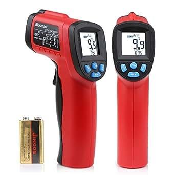 Blusmart 赤外線放射温度計 非接触デジタルレーザーIR赤外線温度計 範囲-50℃〜550℃ ガンタイプ