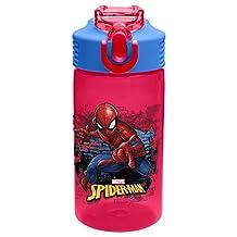 Zak Designs SDNU-T120 Marvel Comics Water Bottles, 16 oz