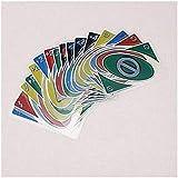 透明クリスタルプラスチックUNOプラスチック防水ポーカー UNO カード ゲーム ファミリー ファン ポーカー カード