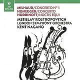 Milhaud/Concerto N. 1 / Honegger/Concerto / Hoddinott/Noctis Equi