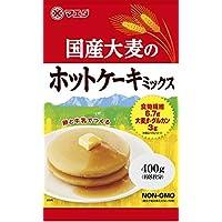 マエダ 国産大麦 ホットケーキミックス 400g