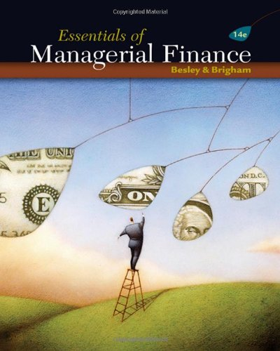 Download Essentials of Managerial Finance 0324422709