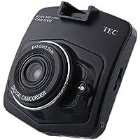 TECDVRFHD-001 テック 2.4型大画面液晶搭載 1080P(FHD)広画角140° ドライブレコーダー