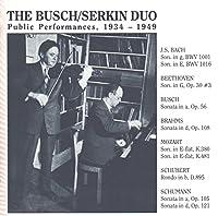 Public Performances 1934-1949