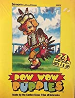 Pow Wow Puppies 24Piece Puzzle by Santee Sioux Tribeネブラスカ州の