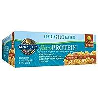 海外直送品FucoPROTEIN, Peanut Butter Crunch, 12 bars by Garden of Life
