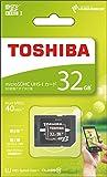 TOSHIBA microSDHCカード 32GB Class10 UHS-I対応 (最大転送速度40MB/s) 5年保証 (国内正規品) MSDAR40N32G