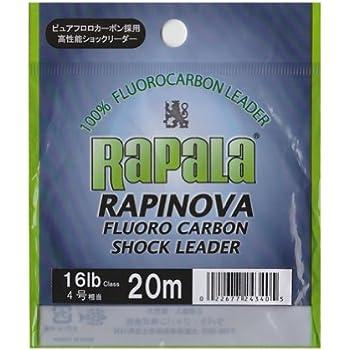 ラパラ(Rapala) ショックリーダー ラピノヴァ フロロカーボン 20m