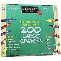Sargent Art Large Crayons 200 Large