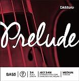 D'Addario ダダリオ ウッドベース(コントラバス)弦 J612 3/4M Prelude Bass Strings / D-stainless steel 【国内正規品】