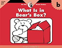 B, What's In Bear's Box (Itty-bitty Phonics Readers)