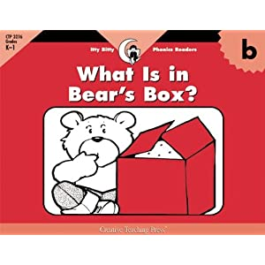 B, What's In Bear's Box (Itty-Bitty Phonics Readers)