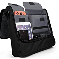 Soyan Messenger Bag for Nintendo Switch Holds the Switch Console Pro Controller Dock and Other Accessories [並行輸入品]