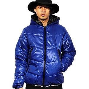 (エイト) 8(eight)12color 中綿 ダウンジャケット ナイロン ブルゾン アウター 防寒 アウトドア ロイヤルブルー M iro007--86--M