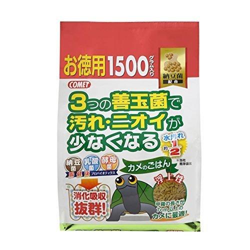 (まとめ買い)イトスイ イトスイ カメのごはん納豆菌お徳用 1500g 【×3】