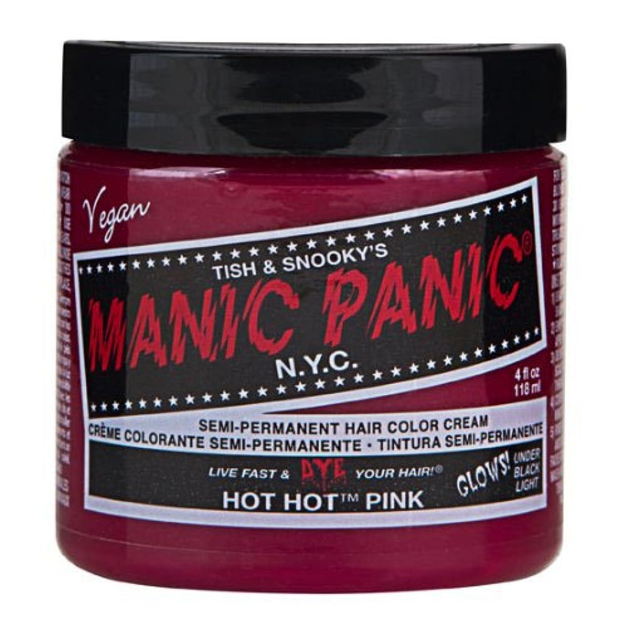 因子チューリップめったにマニックパニック カラークリーム ホットホットピンク