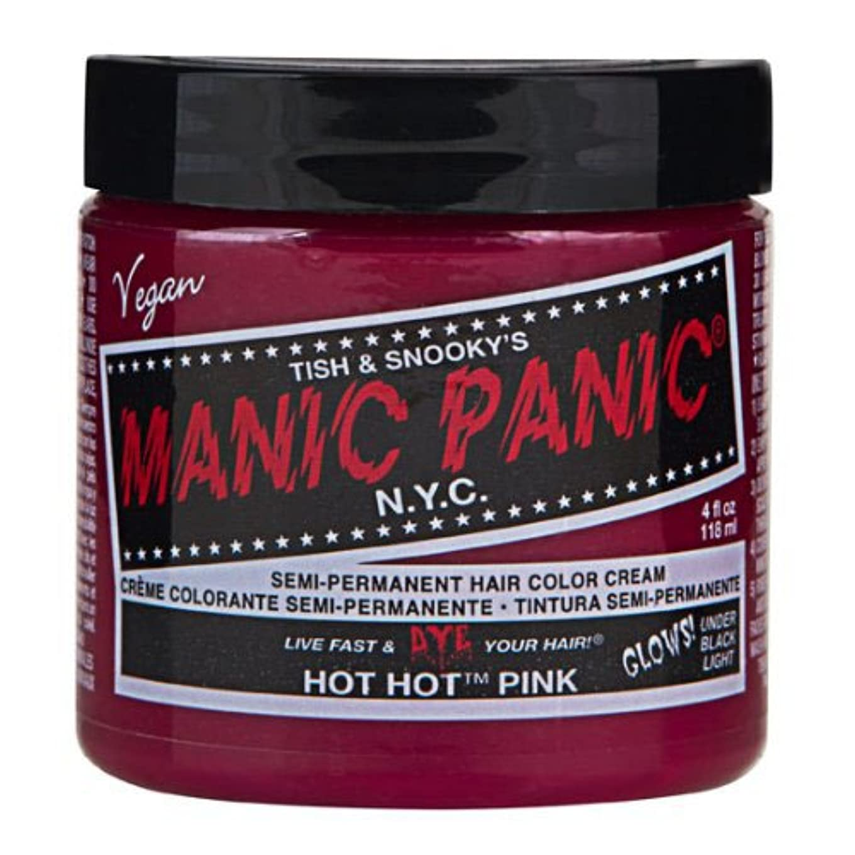 広い以下ビットマニックパニック カラークリーム ホットホットピンク