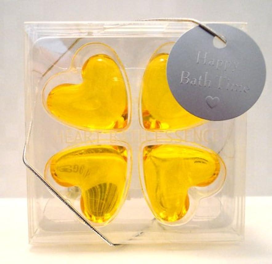 環境保護主義者放射性示すパトモス バスエッセンスハート 4P グレープフルーツ